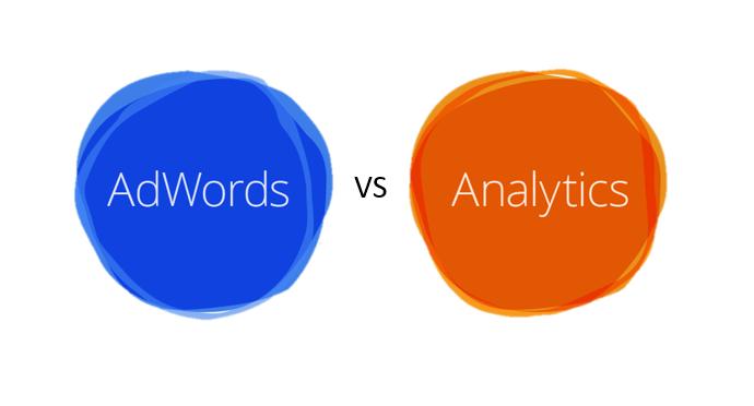 PPc hubbub - Audiences - Adwords vs Analytics