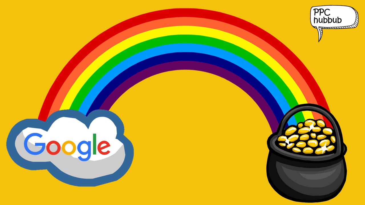 PPC hubbub - Google SERP Colour Testing