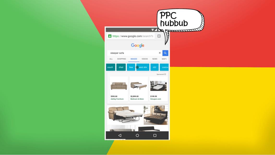 PPC hubbub - Google Shopping Image Search