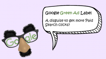 PPC hubbub - Google Green Ad Label - Featured Image