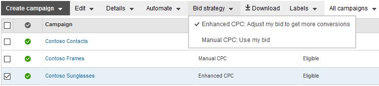 Bing Ads Enhanced CPC - 2