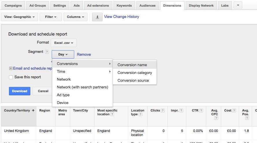 PPC hubbub - Segmenting by Geo - Shop Visit Conversions