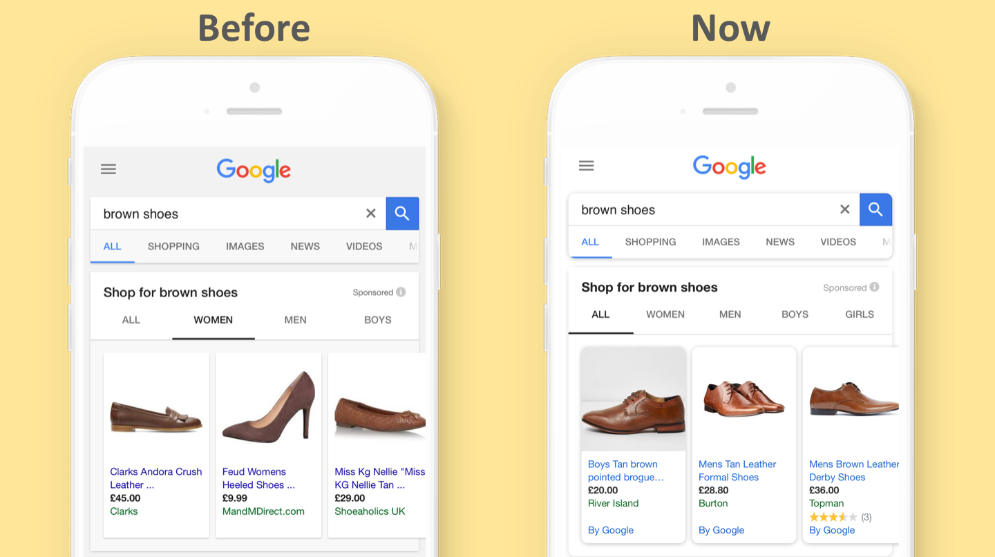 PPC hubbub - Curved Mobile Search Interface
