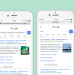 Google Testing Images in Text Ads on Mobile From Visual Sitelinks
