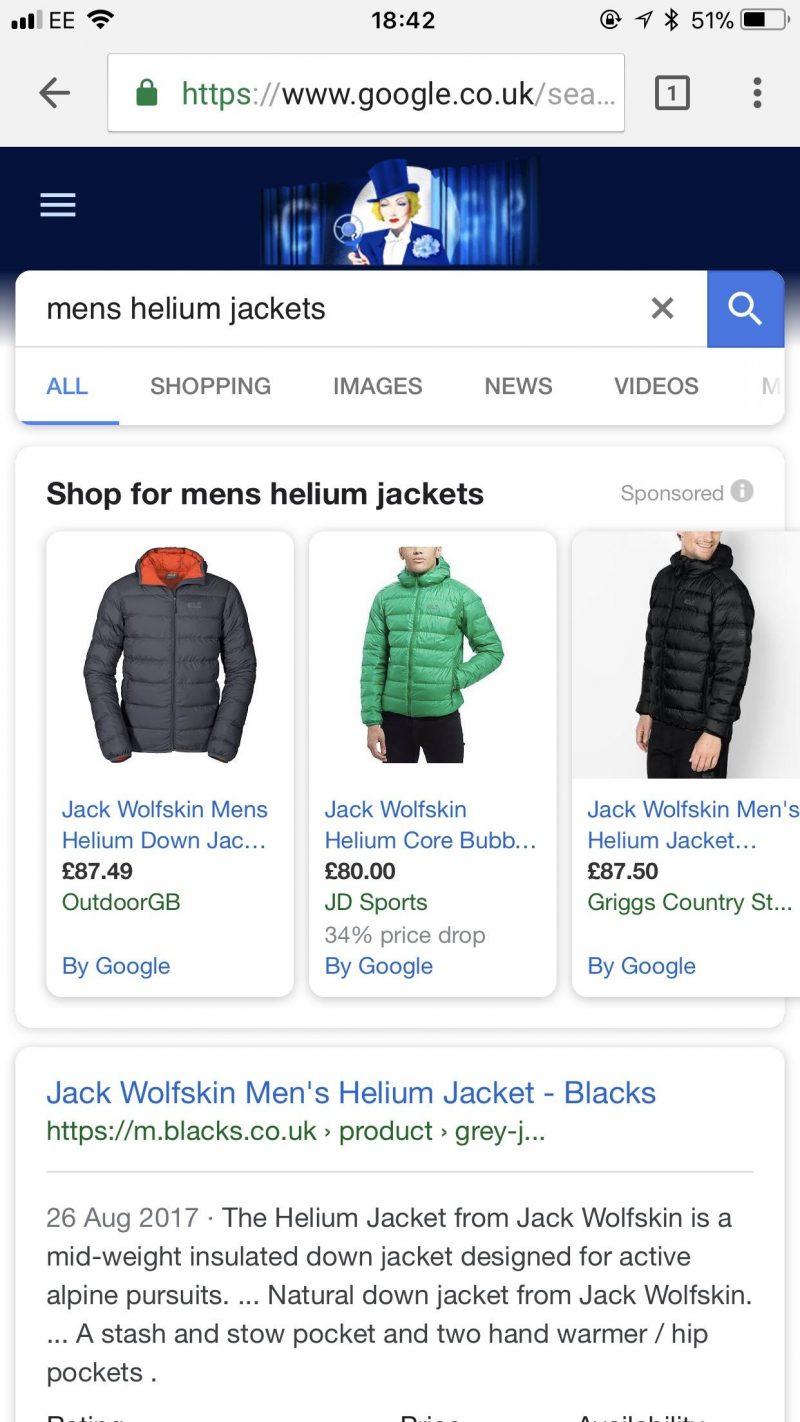 PPC hubbub - Google Shopping Similar Looks