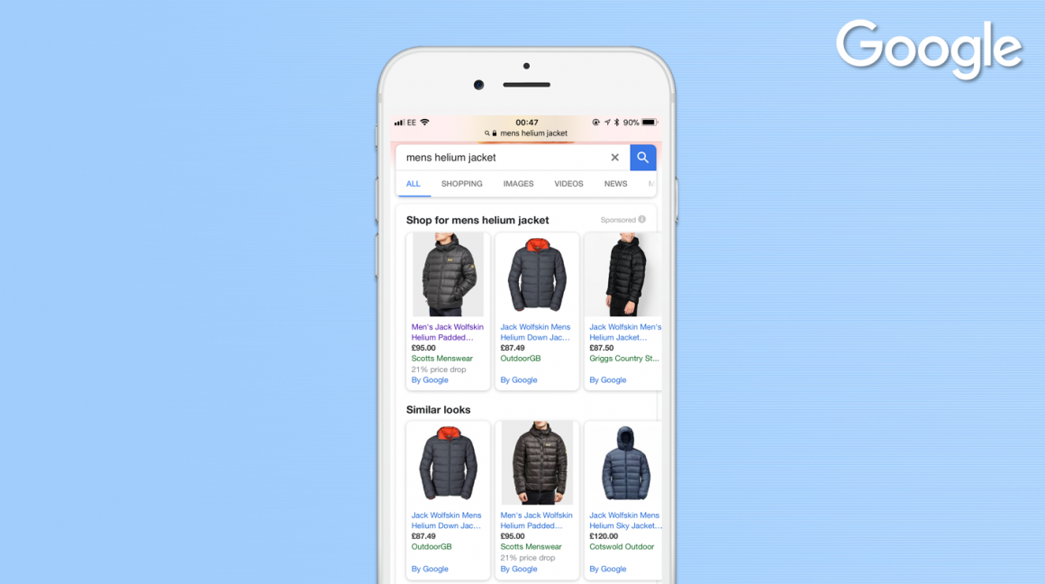 PPC hubbub - Similar Looks on Google Shopping