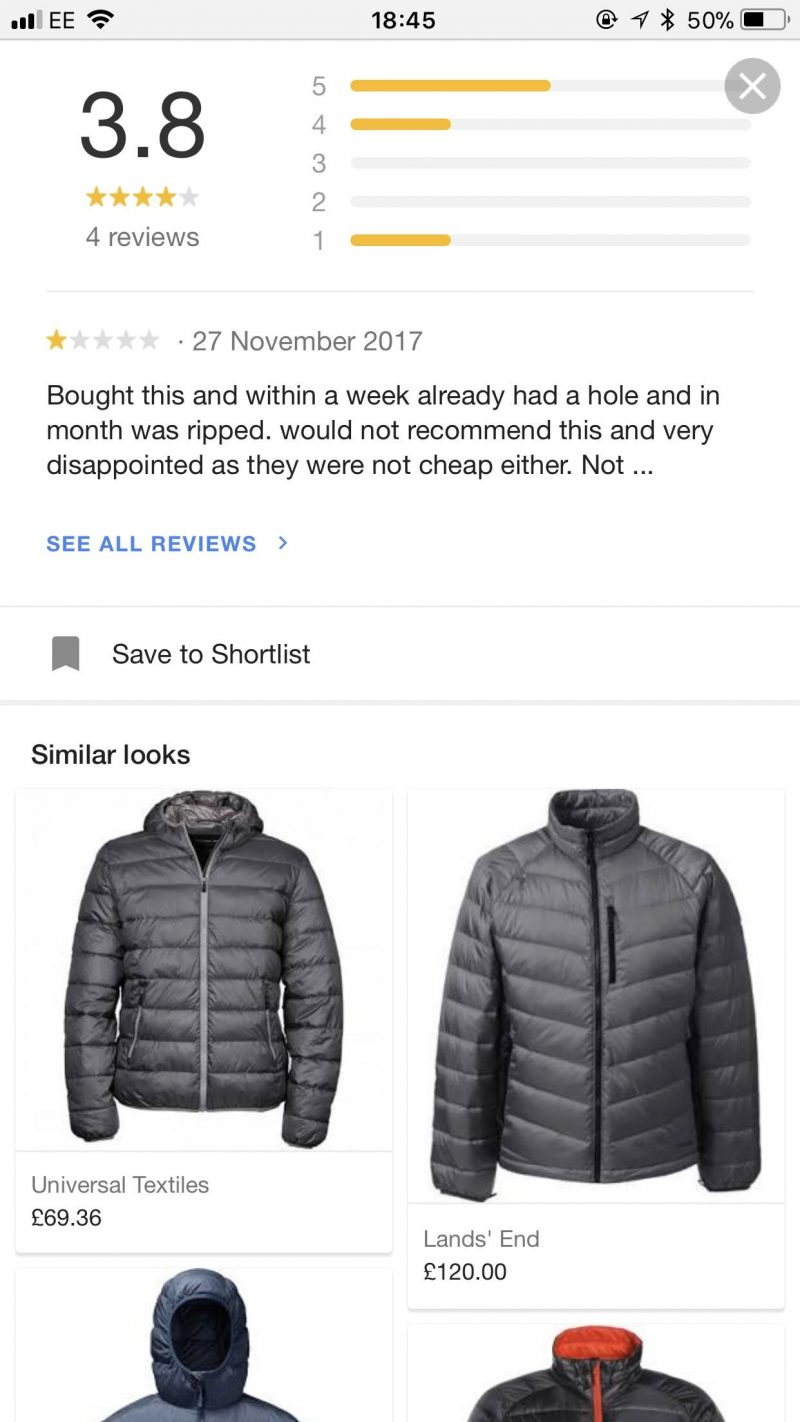 PPC hubbub - Similar Looks Google Shopping
