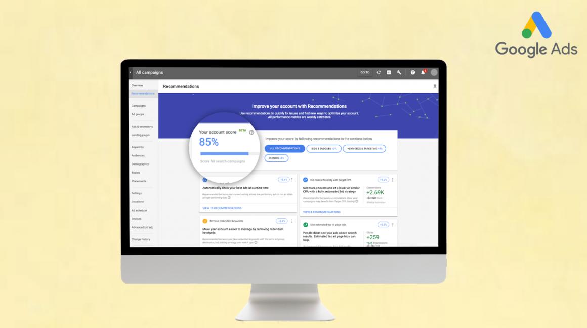 Google Ads Optimisation Score