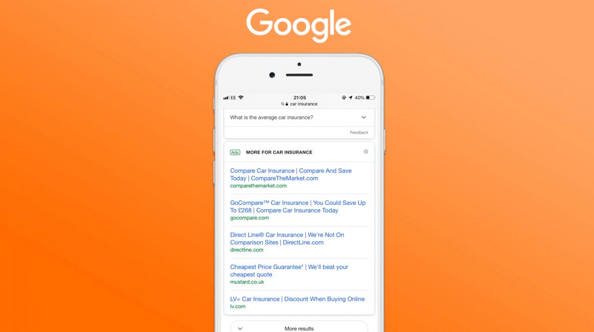 Google Ads - New Mobile Ad Format - No Description Line