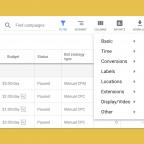 Google Pre Defined Reports