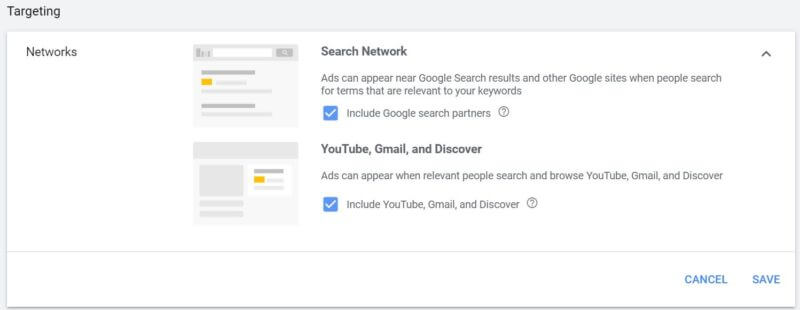 Shopping Ads - Gmail, YouTube, Discover