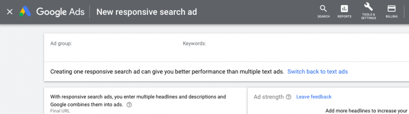 PPC hubbub - Responsive Search Ads replacing Text Ads 2