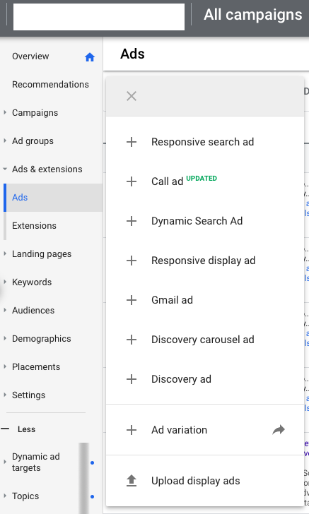 PPC hubbub - Responsive Search Ads replacing Text Ads